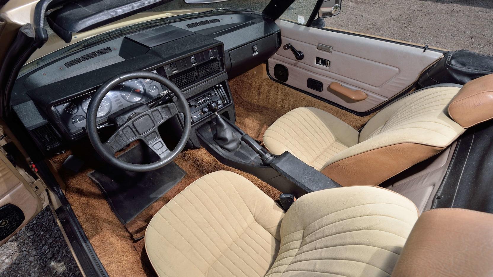 1979 Triumph TR7 driver interior