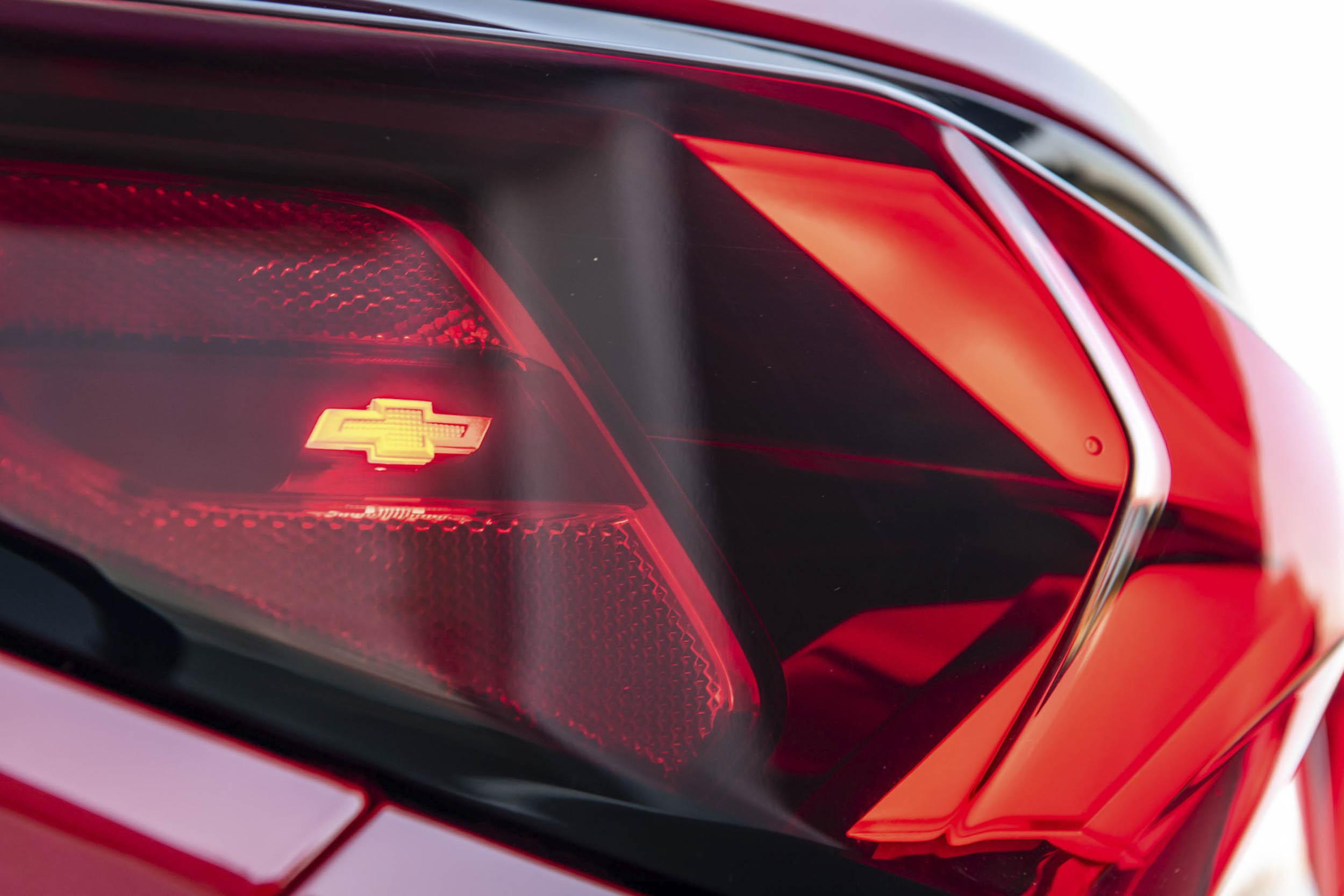 2019 Chevrolet Blazer tail light detail