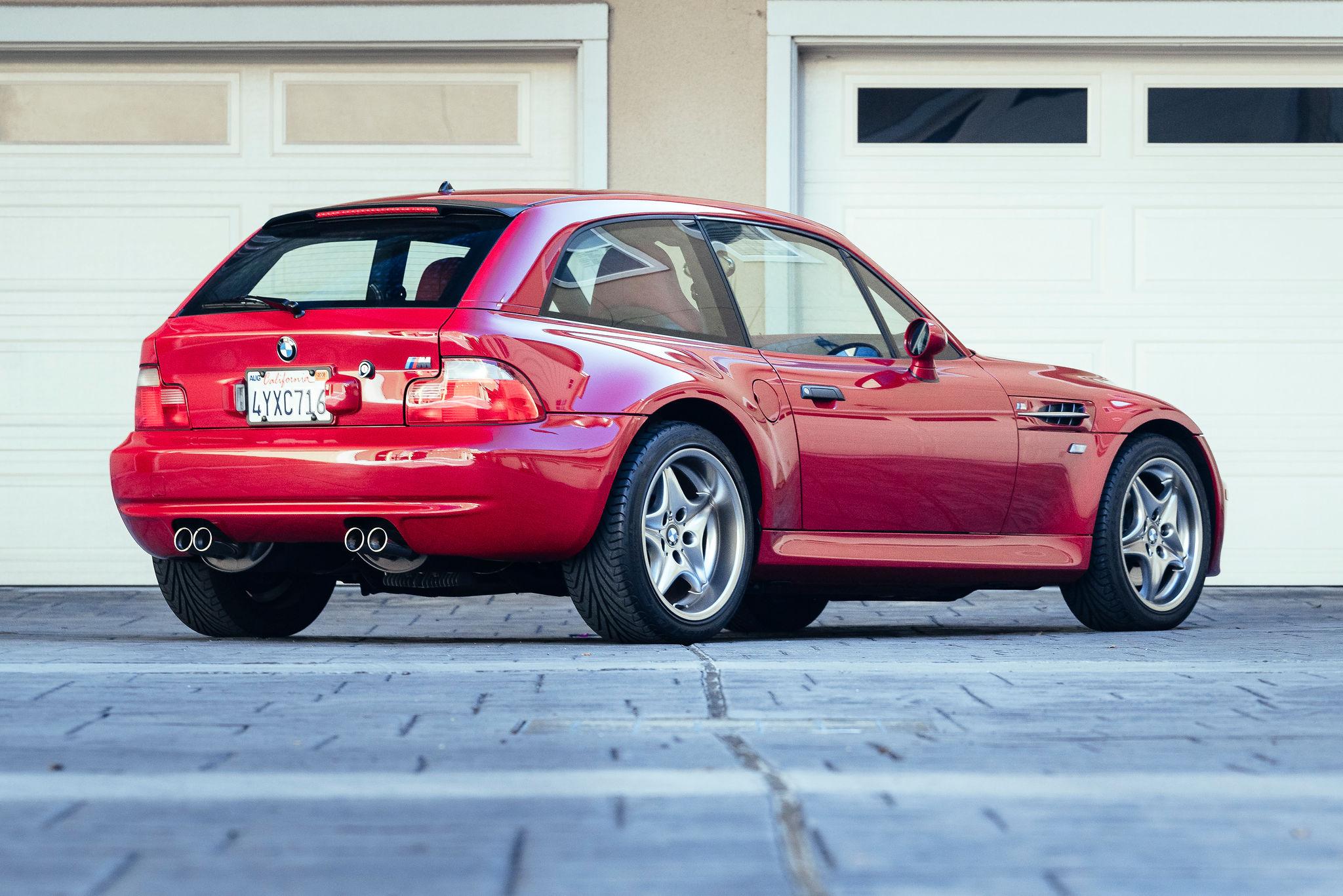 2002 BMW Z3 M Coupe 3/4 rear