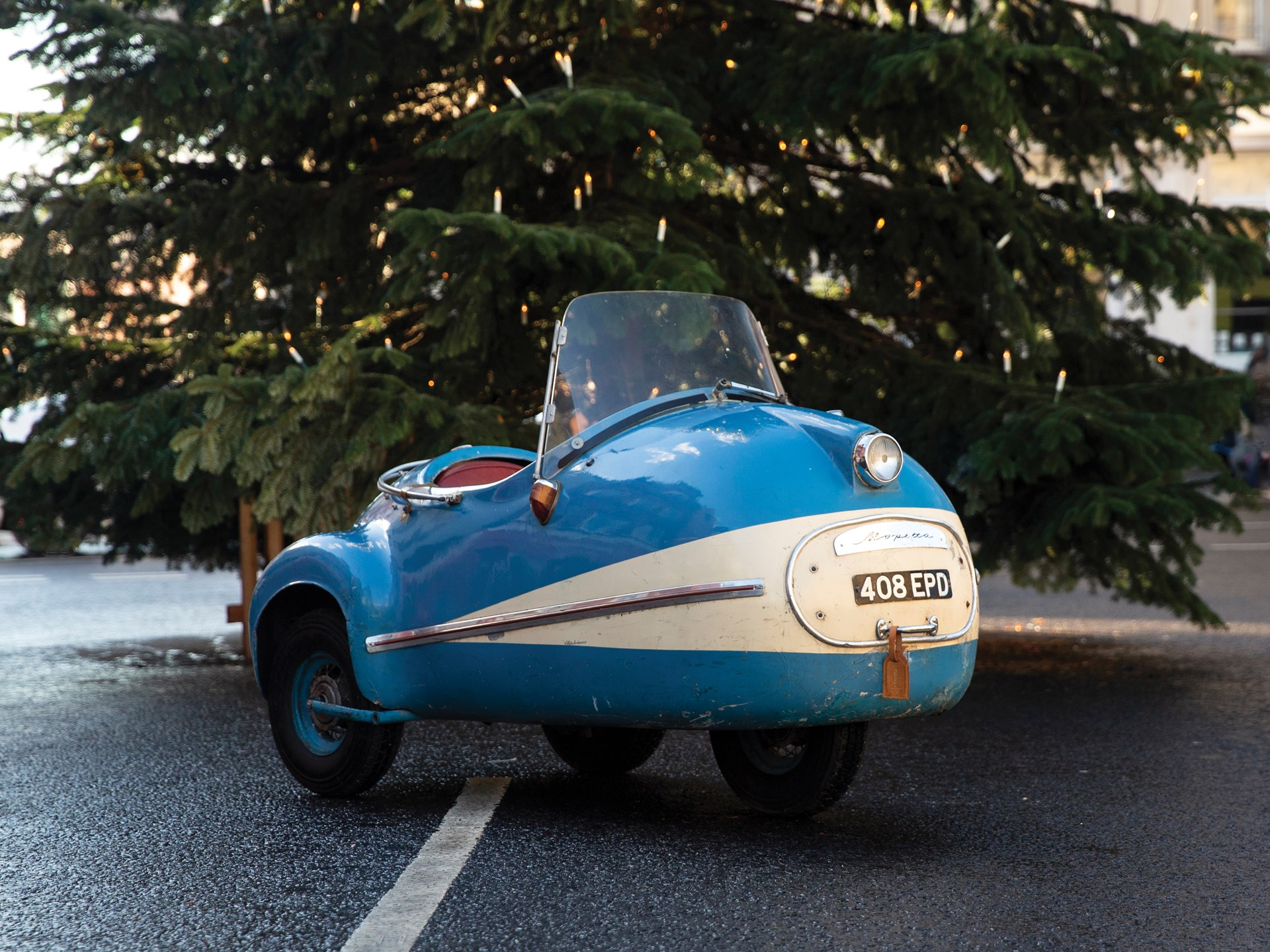 1957 Brütsch Mopetta blue 3/4