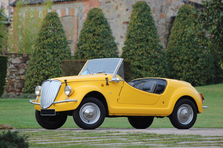 1969 Fiat 500 Gamine par Vignale