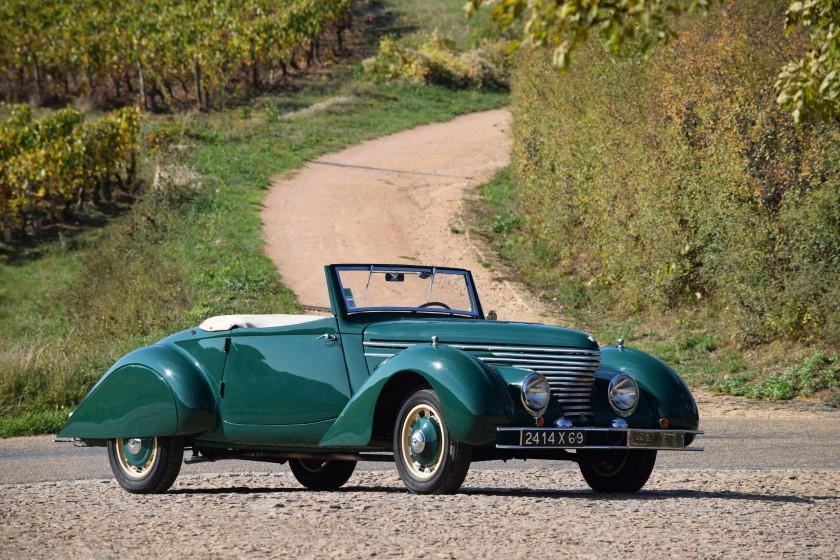 1939 Citroën Traction 11BL Cabriolet par Clabot