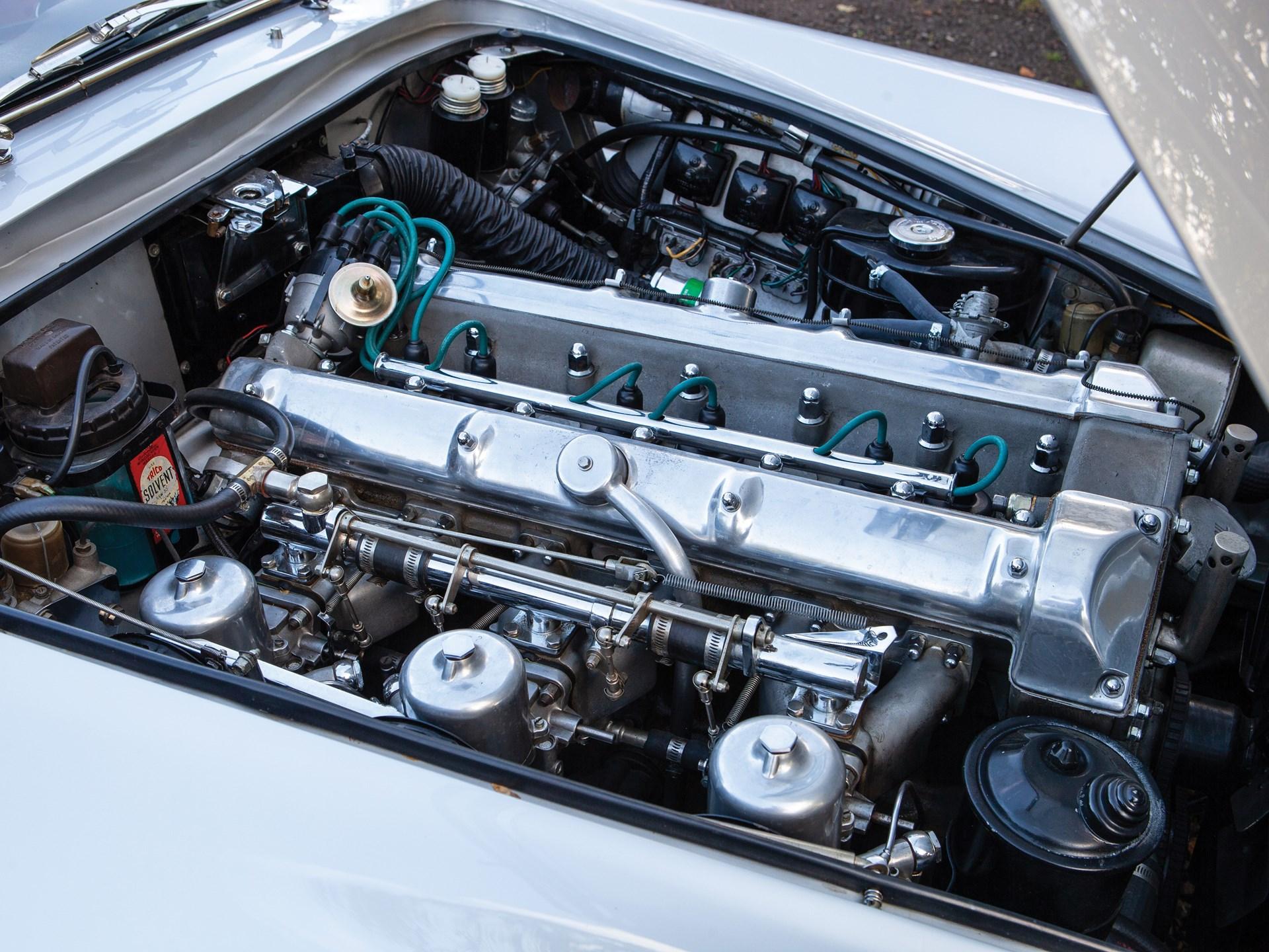 1962 Aston Martin Lagonda Rapide engine