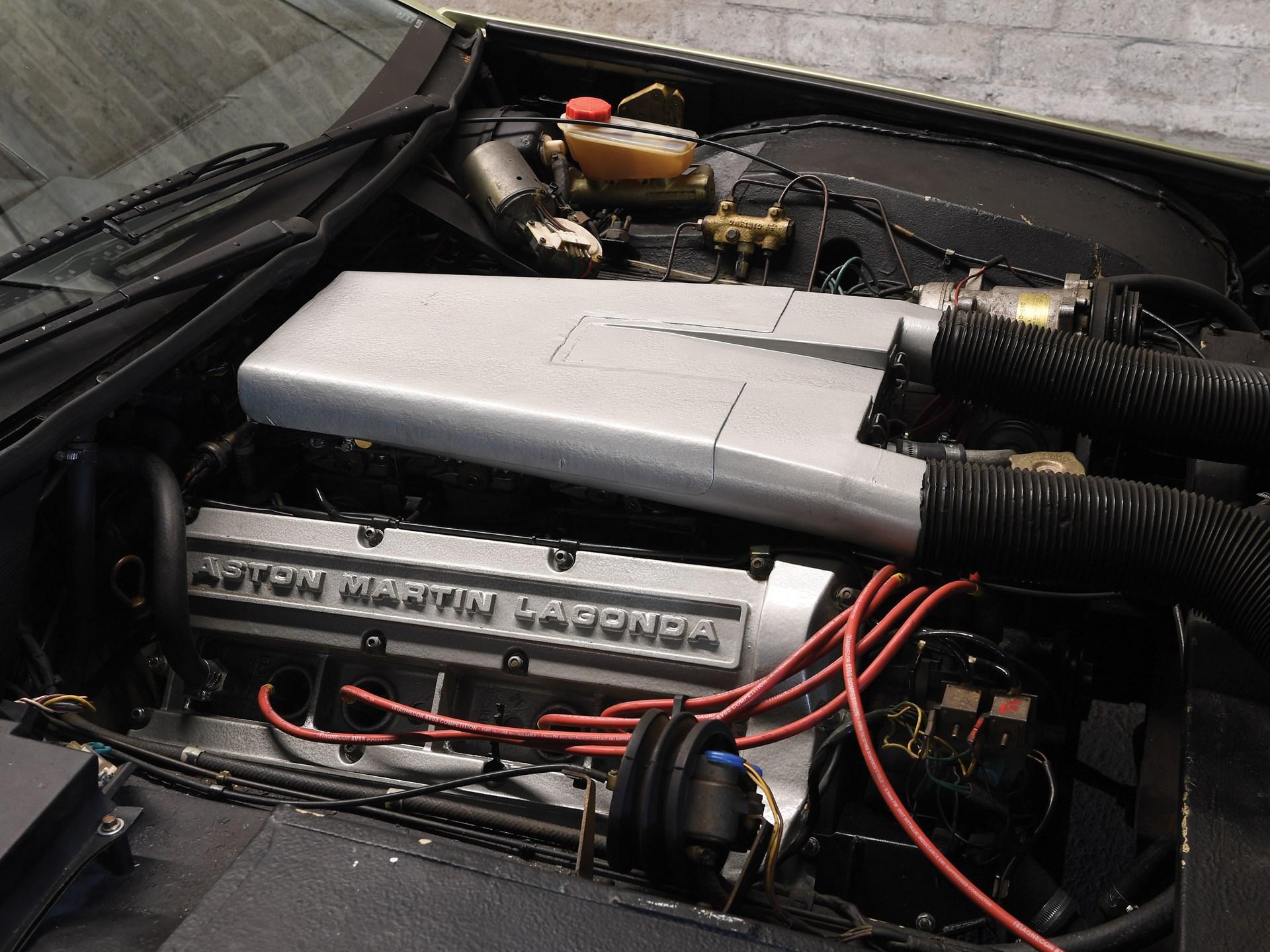 1983 Aston Martin Tickford Lagonda engine