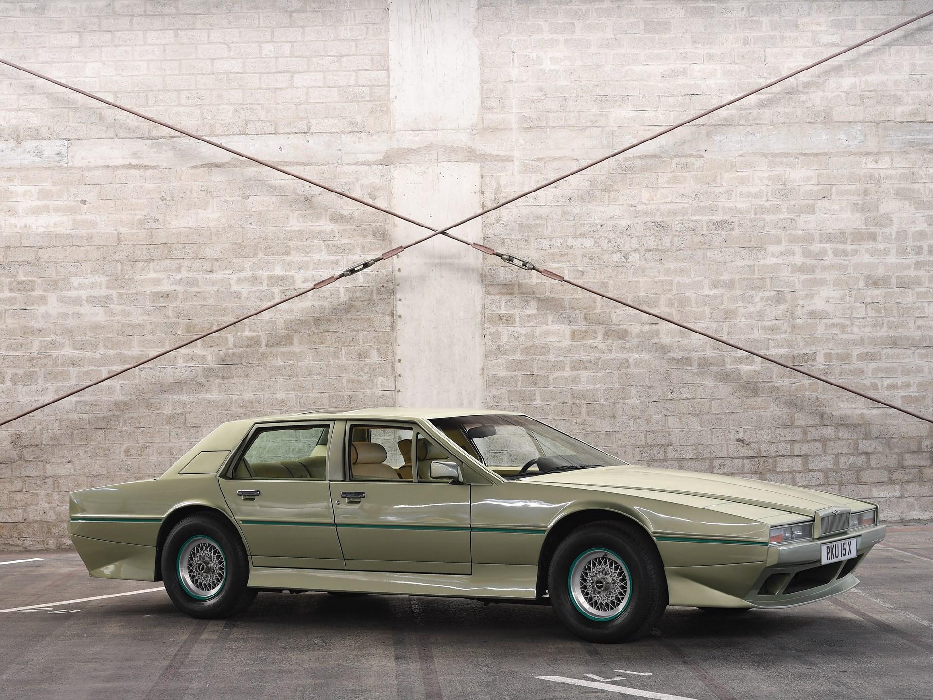 1983 Aston Martin Tickford Lagonda 3.4 front