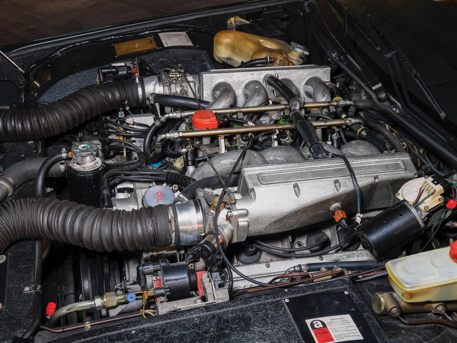 1989 Aston Martin Lagonda Series 4 engine