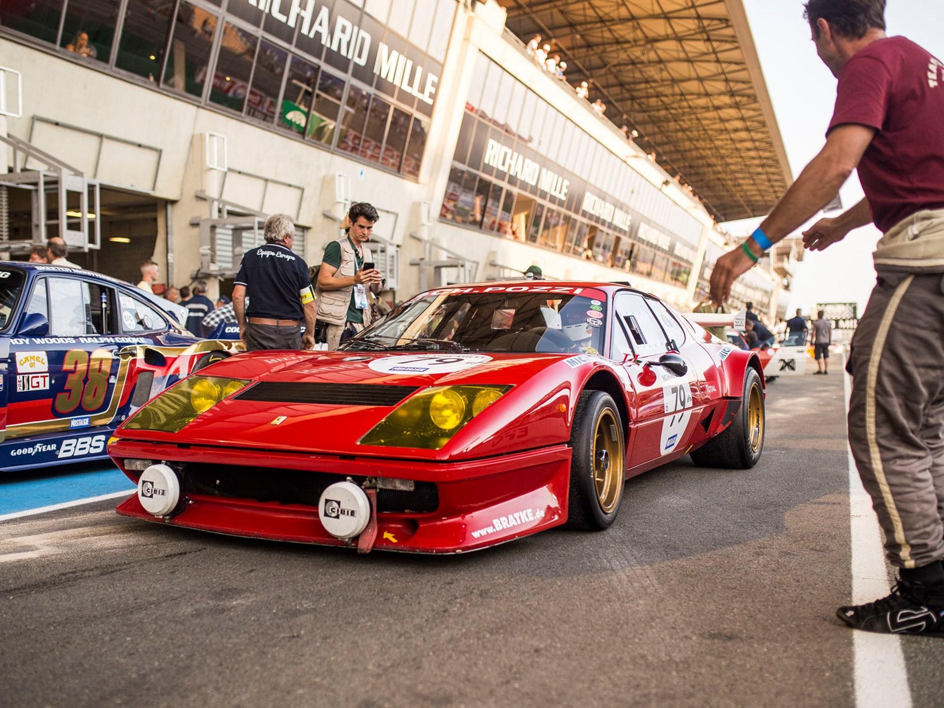 1980 Ferrari 512 BB Competizione race pits