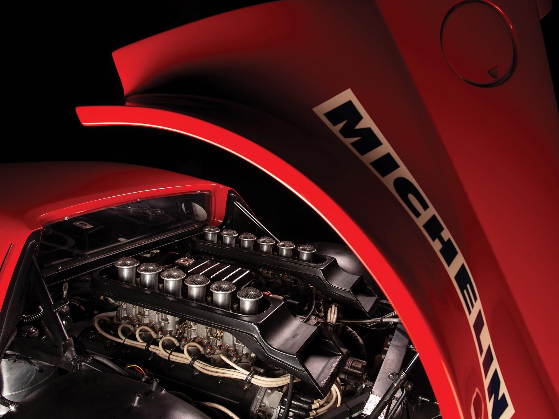1980 Ferrari 512 BB Competizione V12 engine
