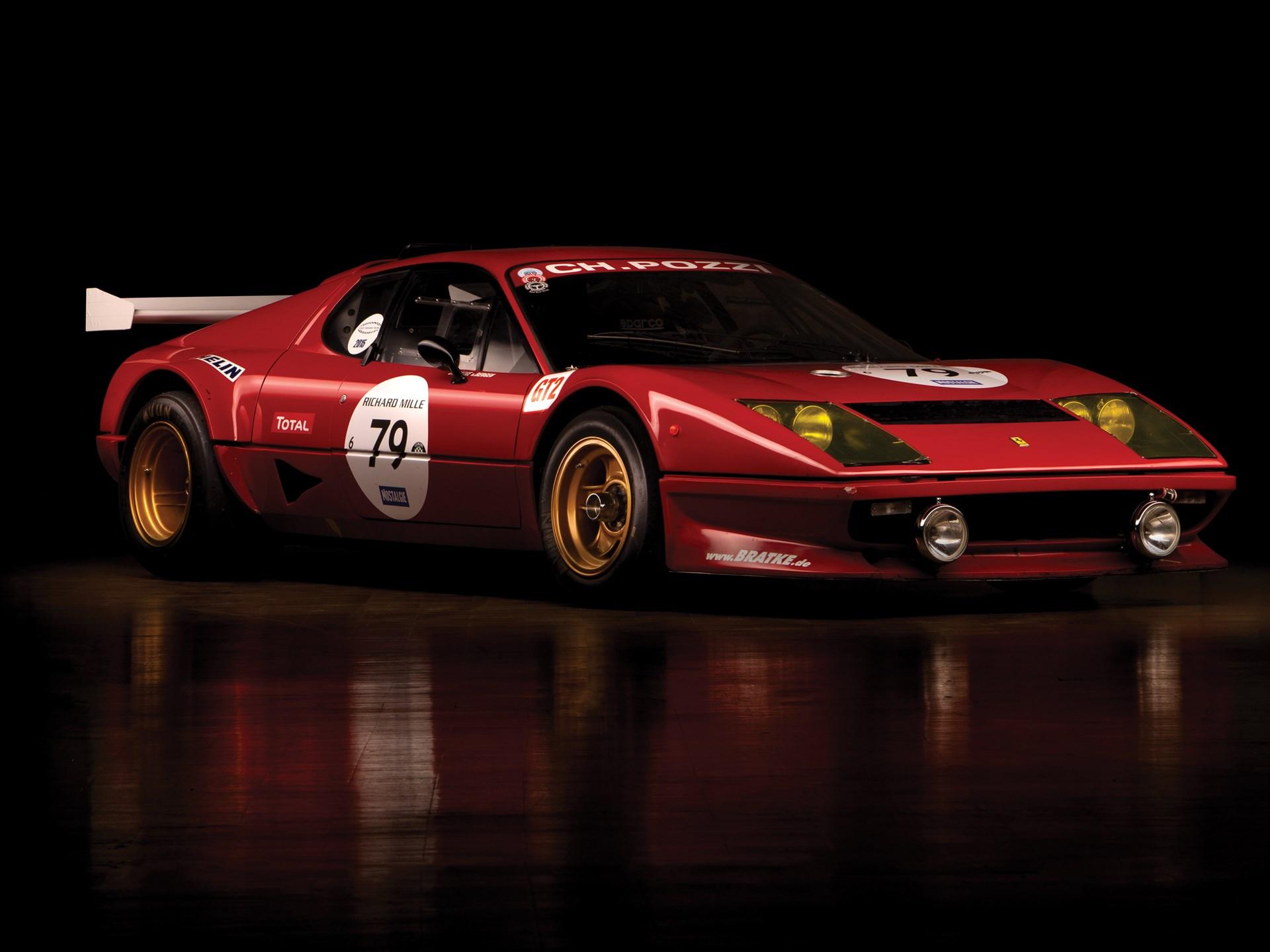 1980 Ferrari 512 BB Competizione 3/4 front