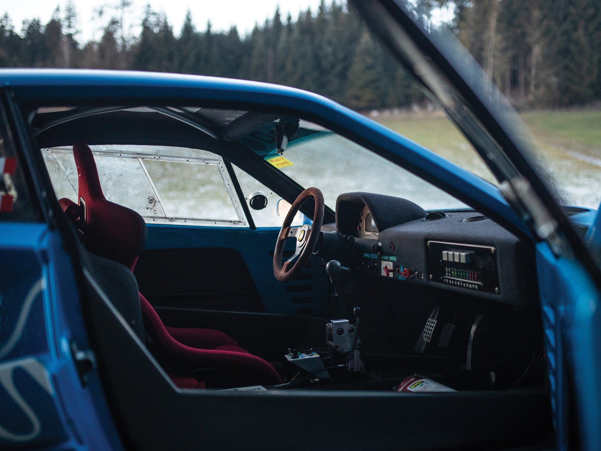 1987 Ferrari F40 LM interior passenger side