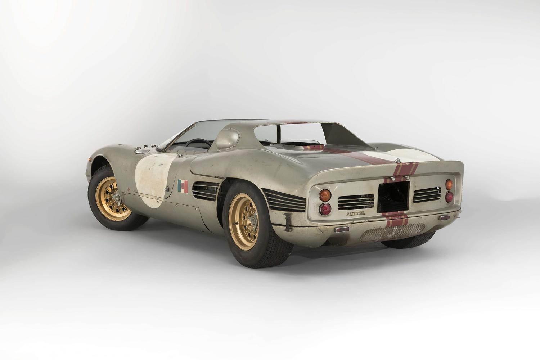 1966 Serenissima Spyder 3/4 rear