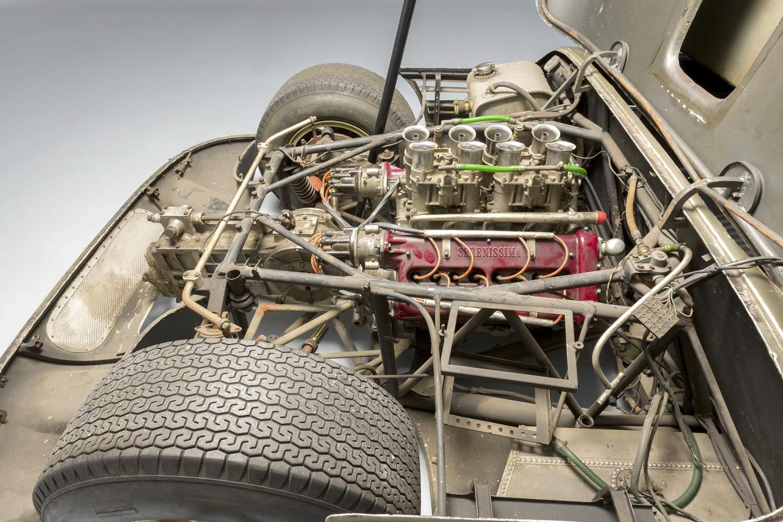 1966 Serenissima Spyder engine open side
