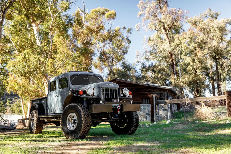 1949 Dodge Power Wagon 3/4 front barn
