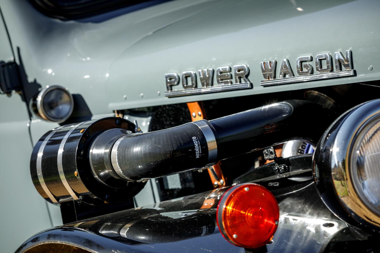 1949 Dodge Power Wagon air intake