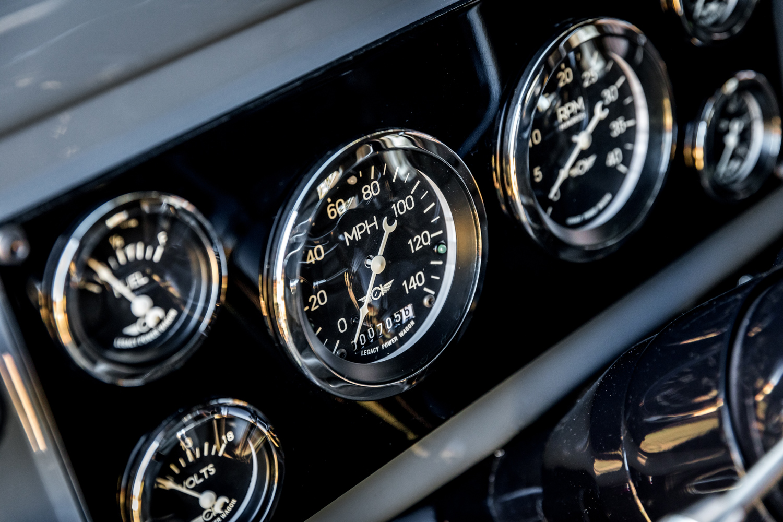 1949 Dodge Power Wagon gauges