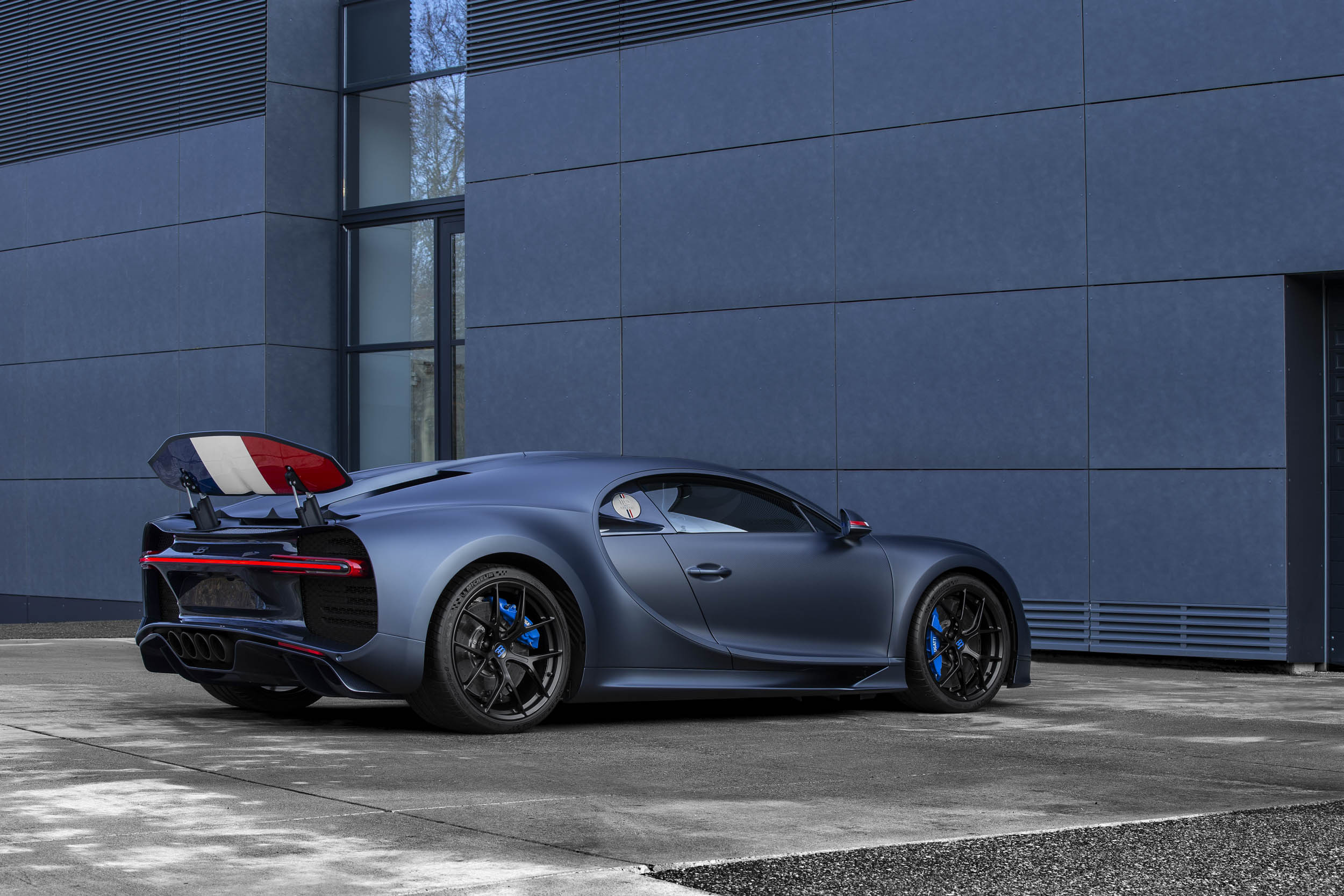 "Bugatti Chiron Sport ""110 ans Bugatti"" rear 3/4"