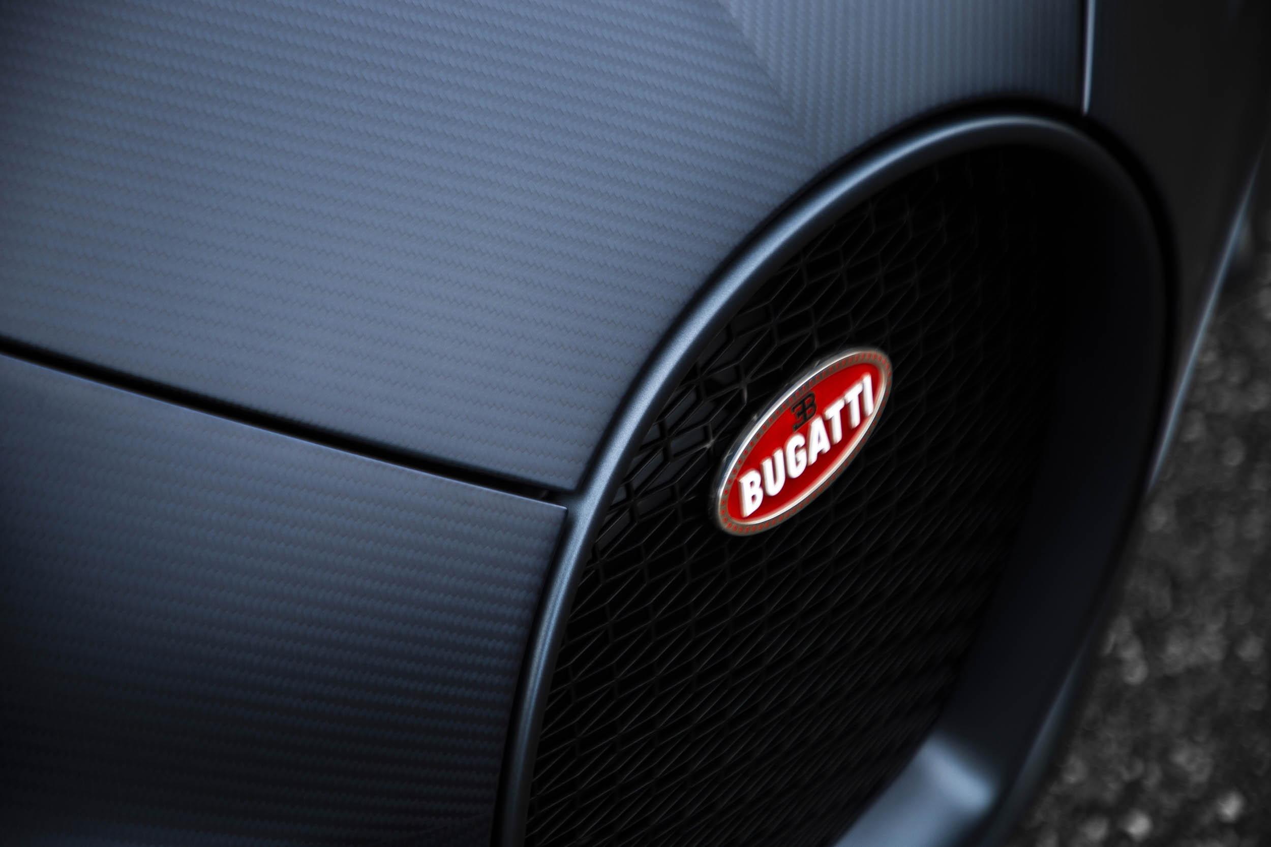 "Bugatti Chiron Sport ""110 ans Bugatti"" nose"