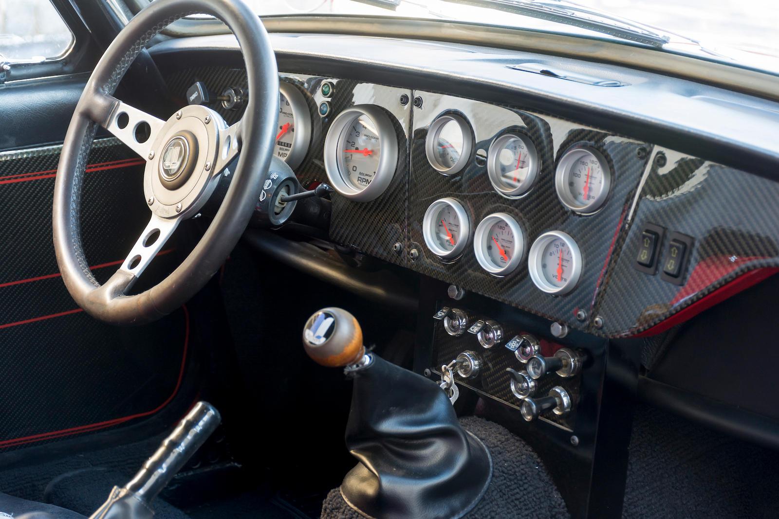 1967 Triumph GT6 Mk I Coupe interior