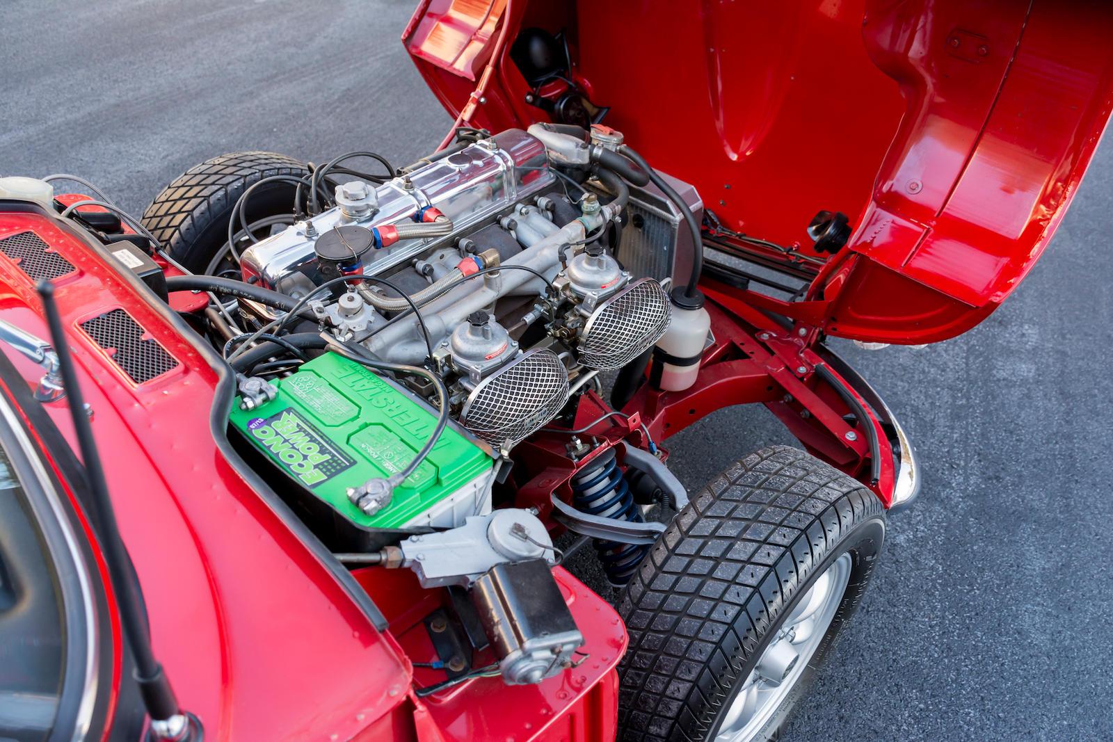 1967 Triumph GT6 Mk I Coupe engine