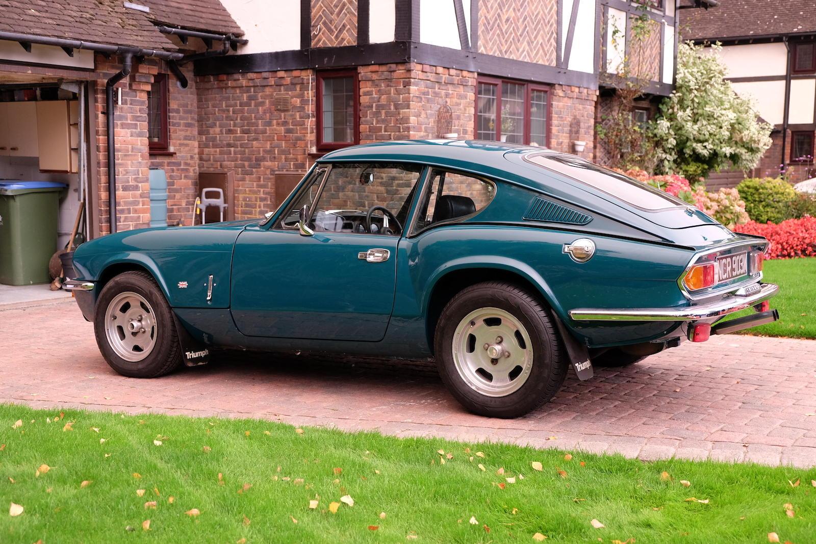 1972 Triumph GT6 Mk III Coupé rear 3/4