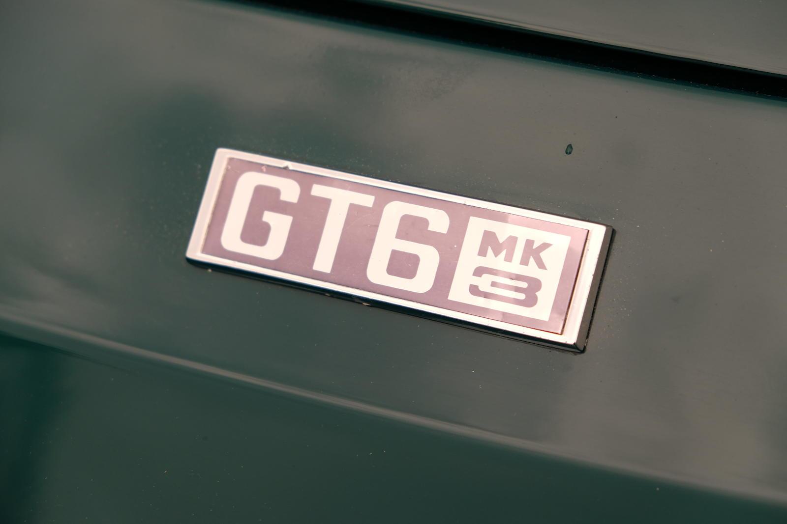 1972 Triumph GT6 Mk III Coupé badge