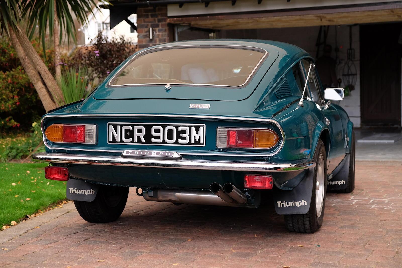 1972 Triumph GT6 Mk III Coupé rear
