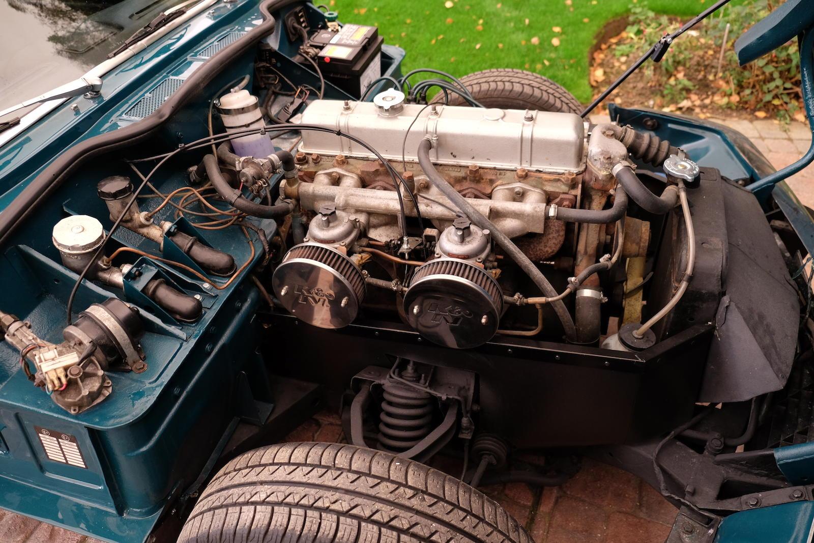 1972 Triumph GT6 Mk III Coupé engine