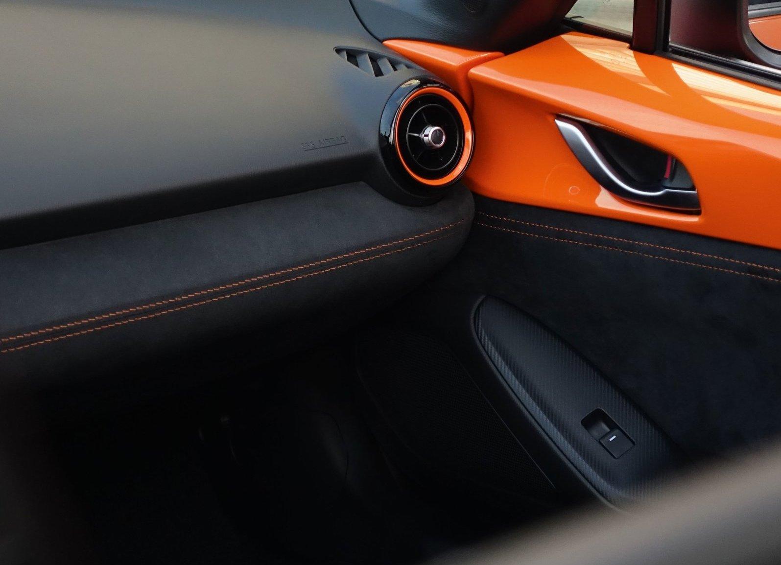 2019 Mazda MX-5 Miata 30th Anniversary Edition interior detail
