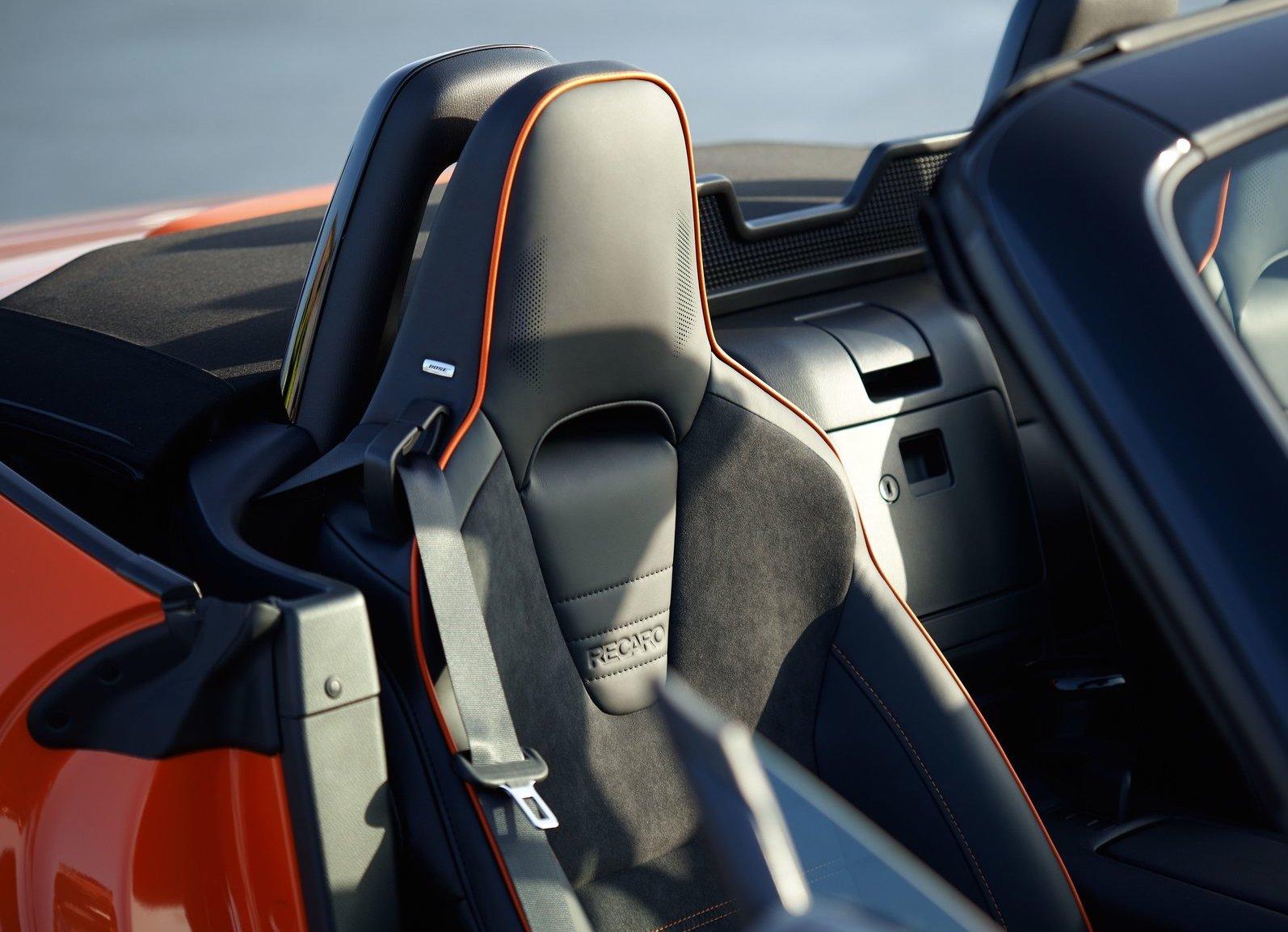 2019 Mazda MX-5 Miata 30th Anniversary Edition seat