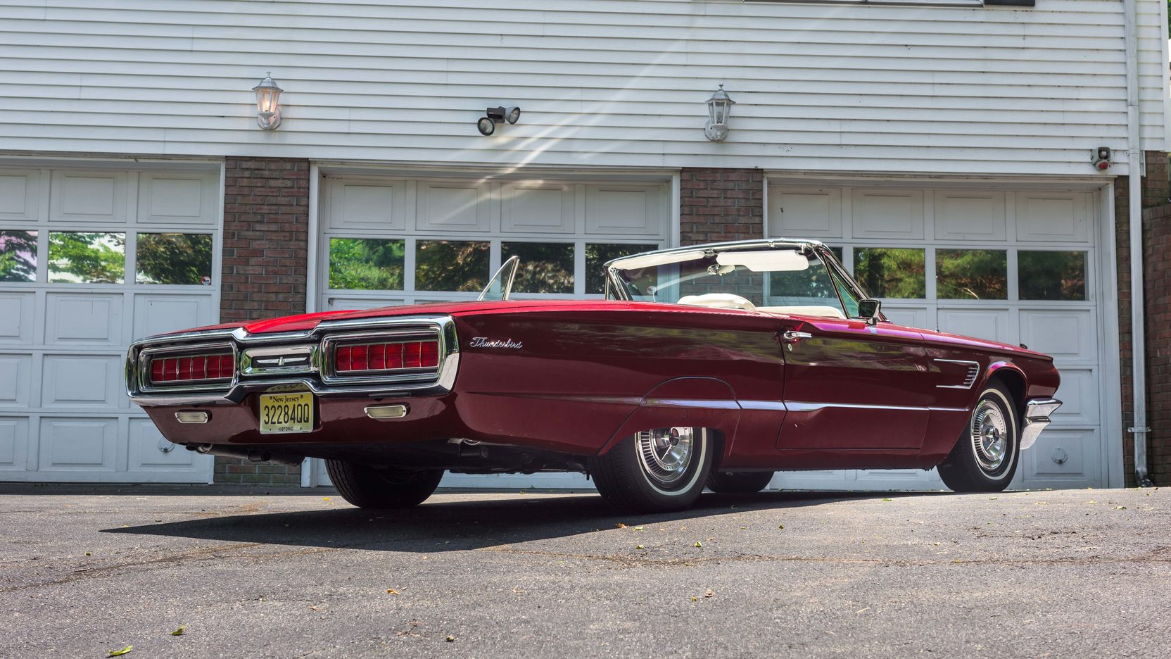 1965 Ford Thunderbird rear 3/4