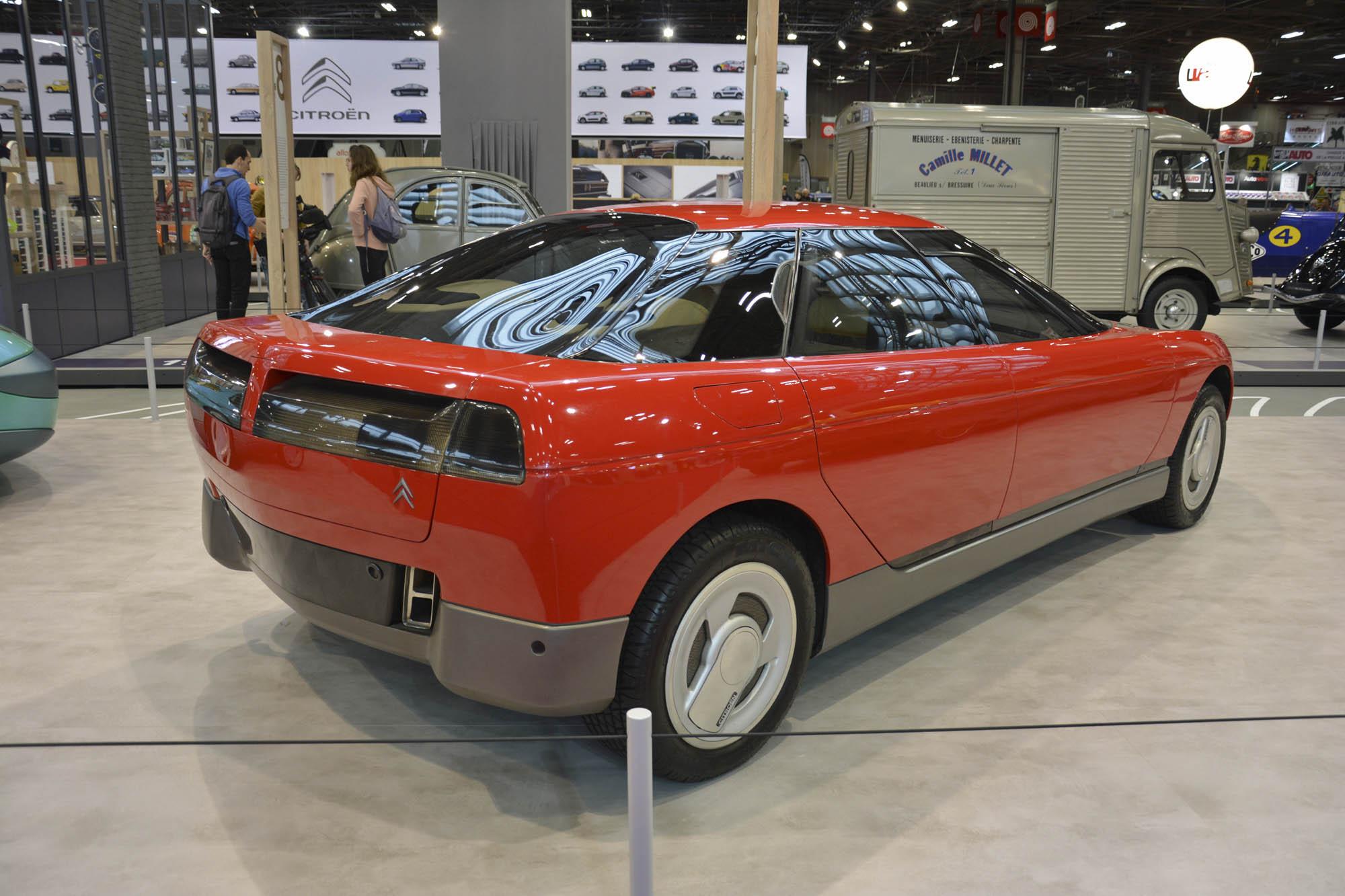 Citroën Activa 1 concept rear 3/4