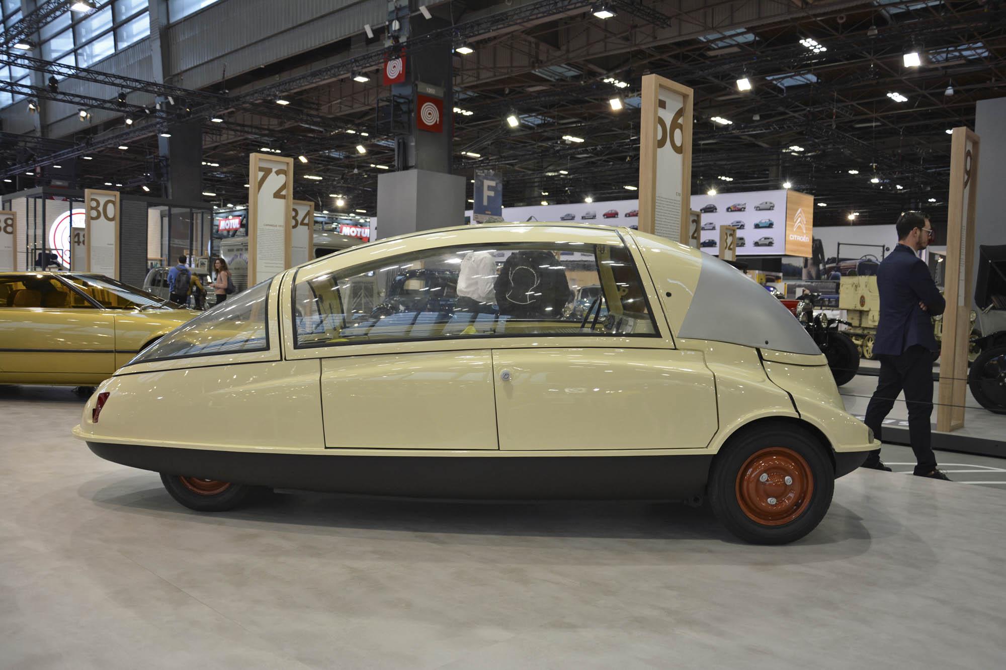 Citroën C10 side profile