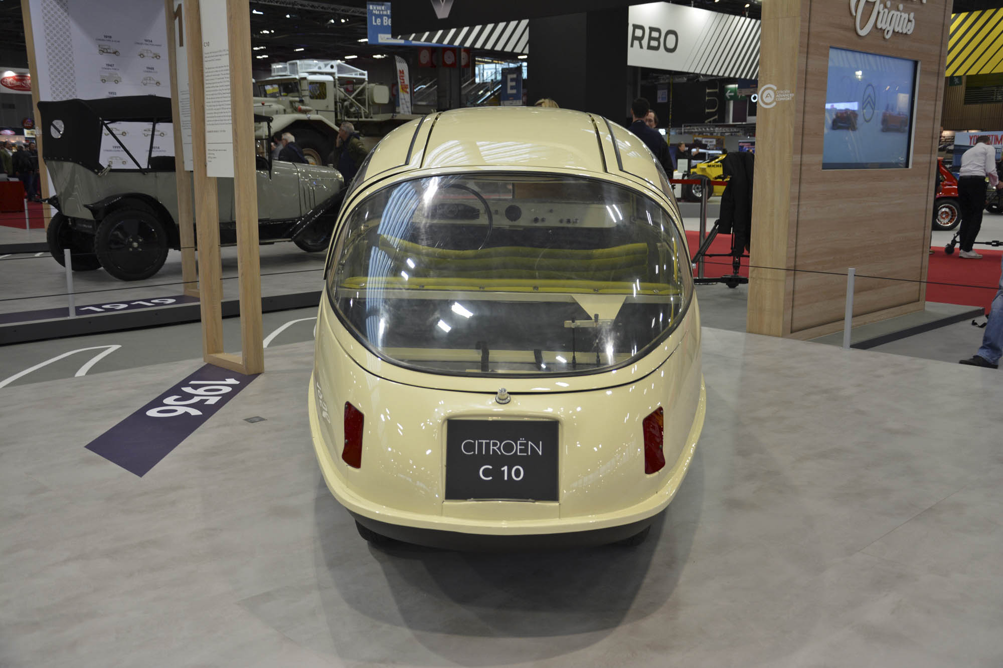 Citroën C10 rear