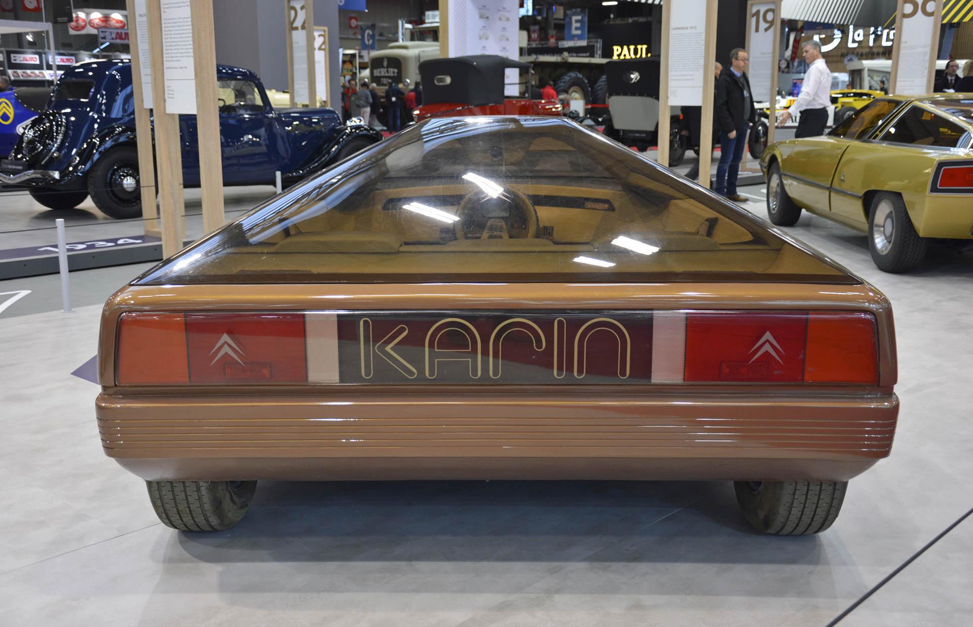Citroën Karin concept rear