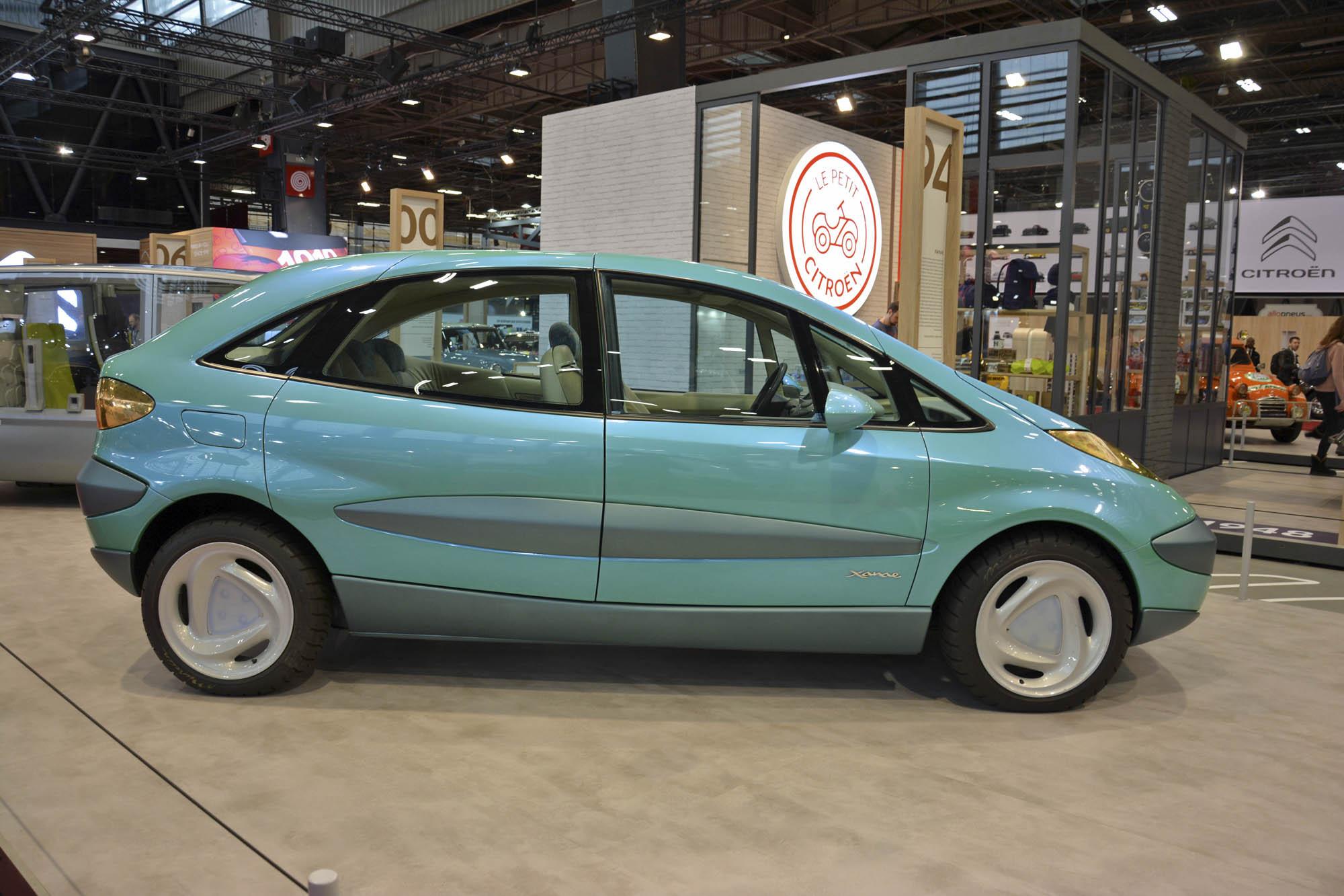Citroën Xanae concept side profile