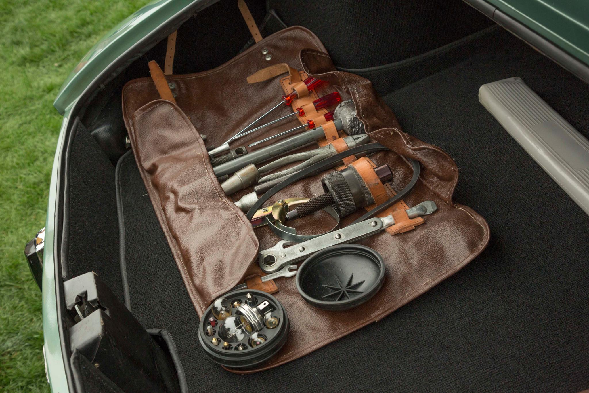 organized tool kit