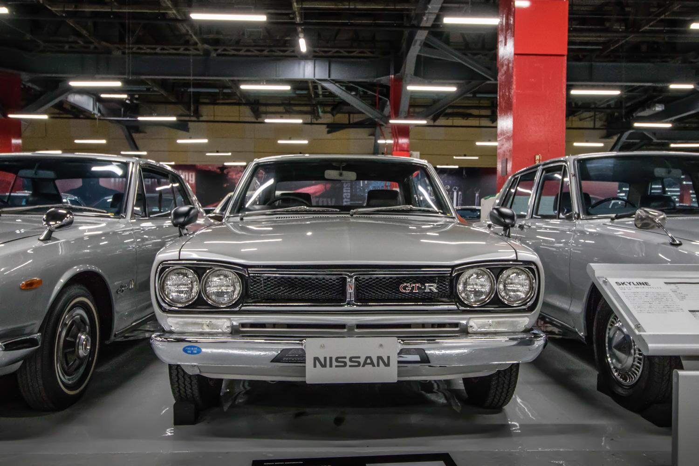Nissan GT-R Hakosuka front museum