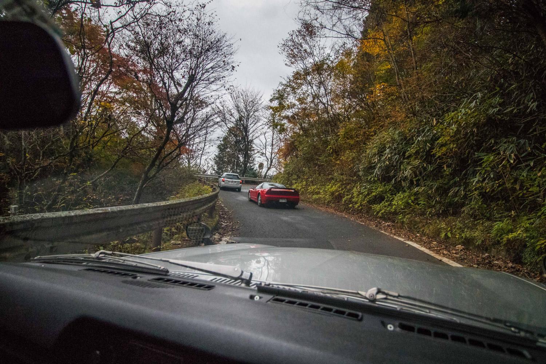Nissan GT-R Hakosuka nsx mountain pass