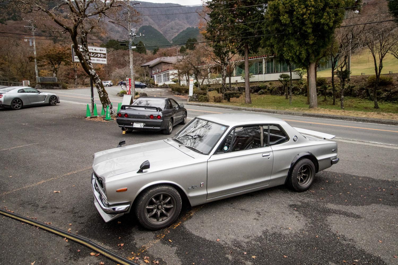 Nissan GT-R Hakosuka r32 and r35