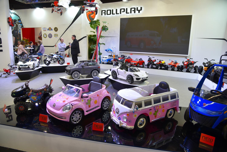 electric rollplay car display