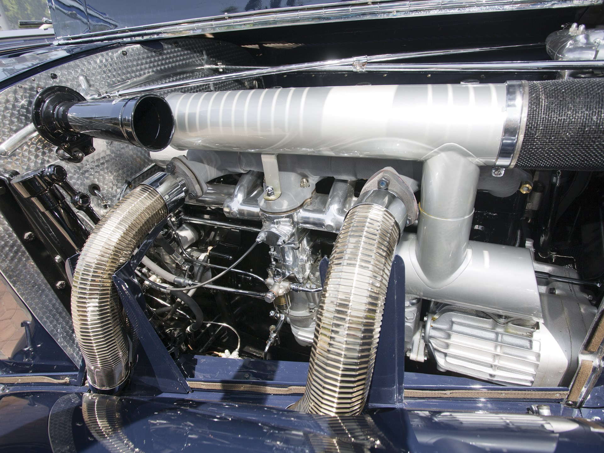 1939 Mercedes-Benz 540k supercharger
