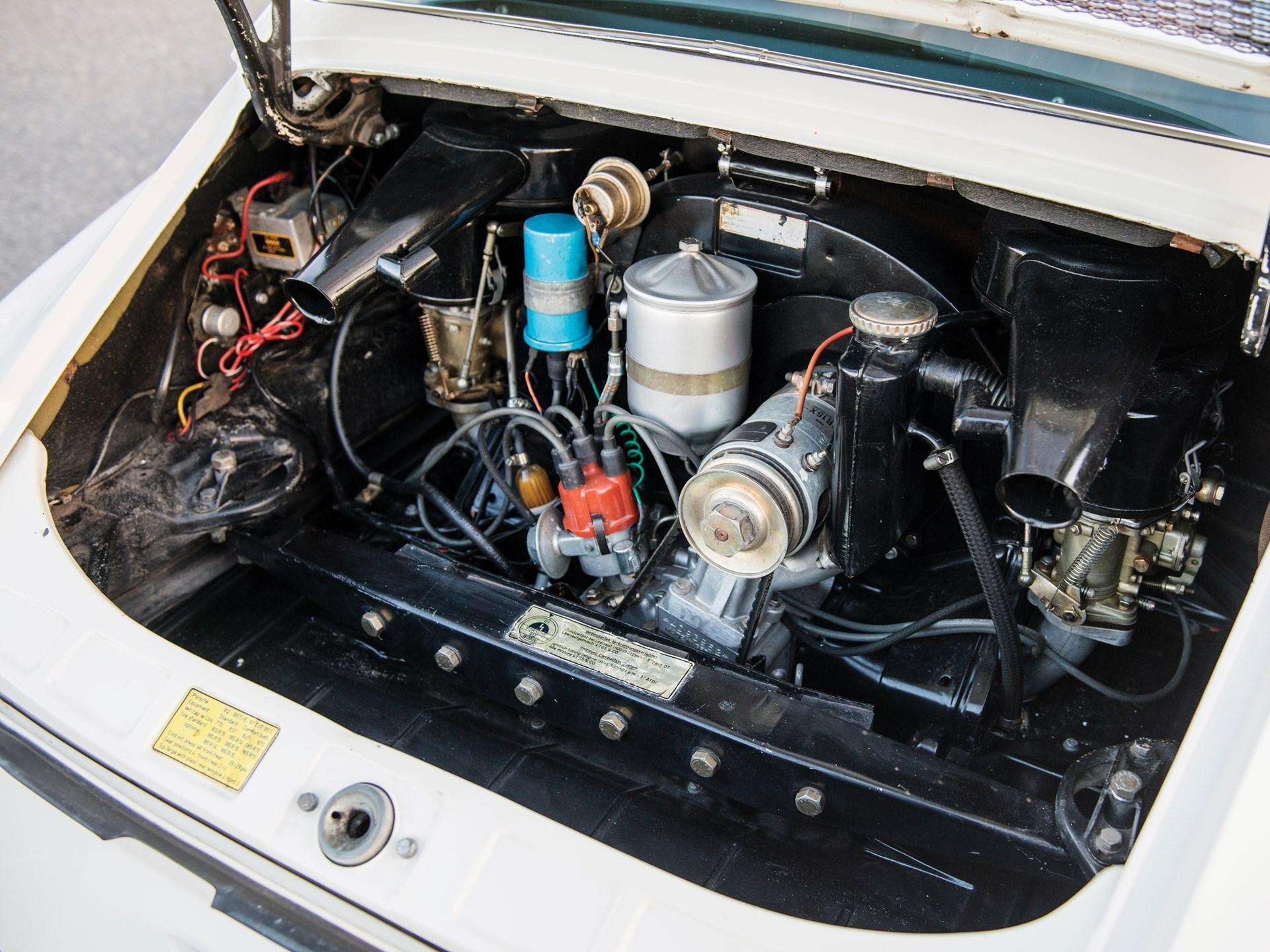 1969 Porsche 912 engine