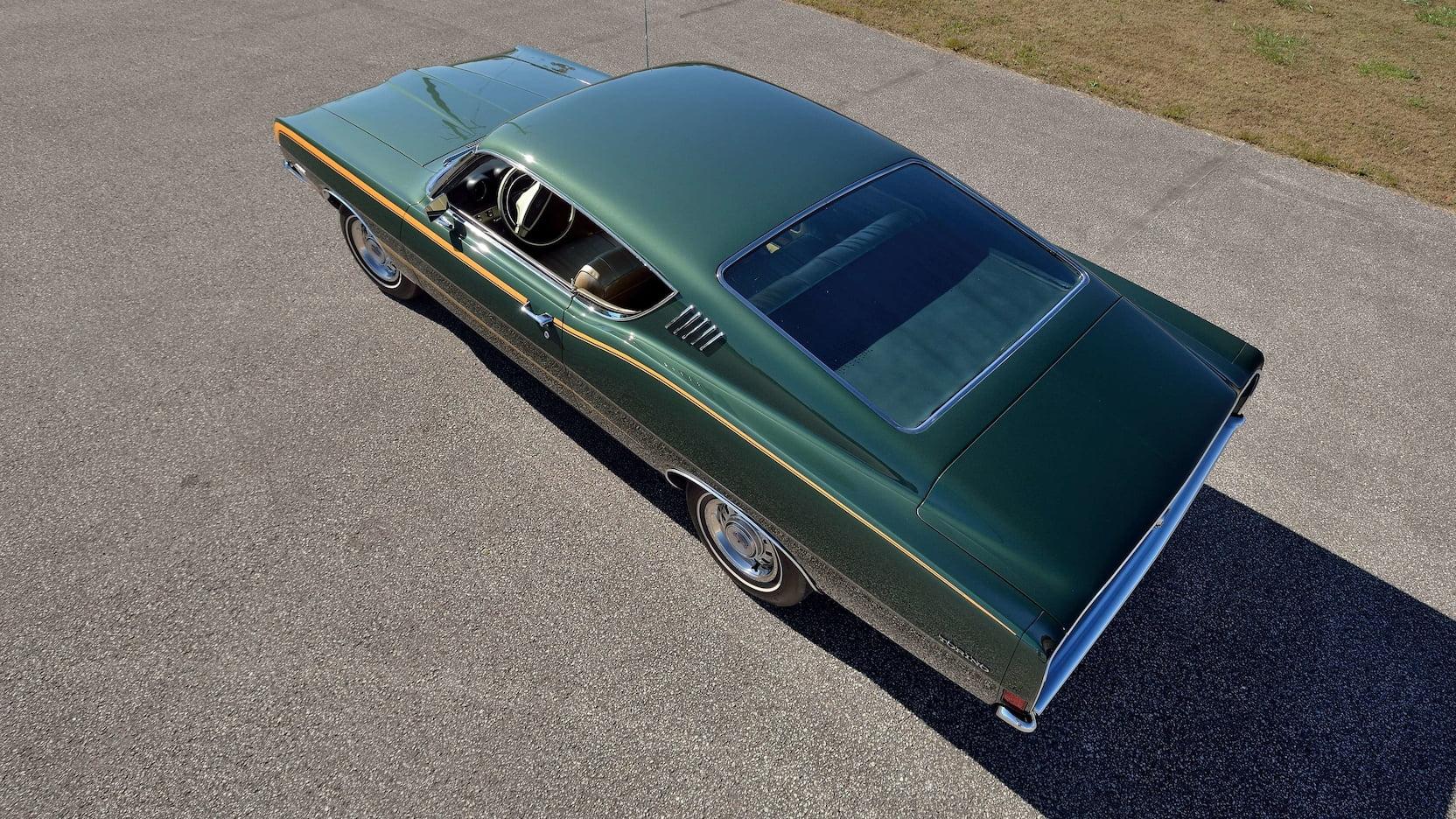 1968 Ford Torino GT overhead