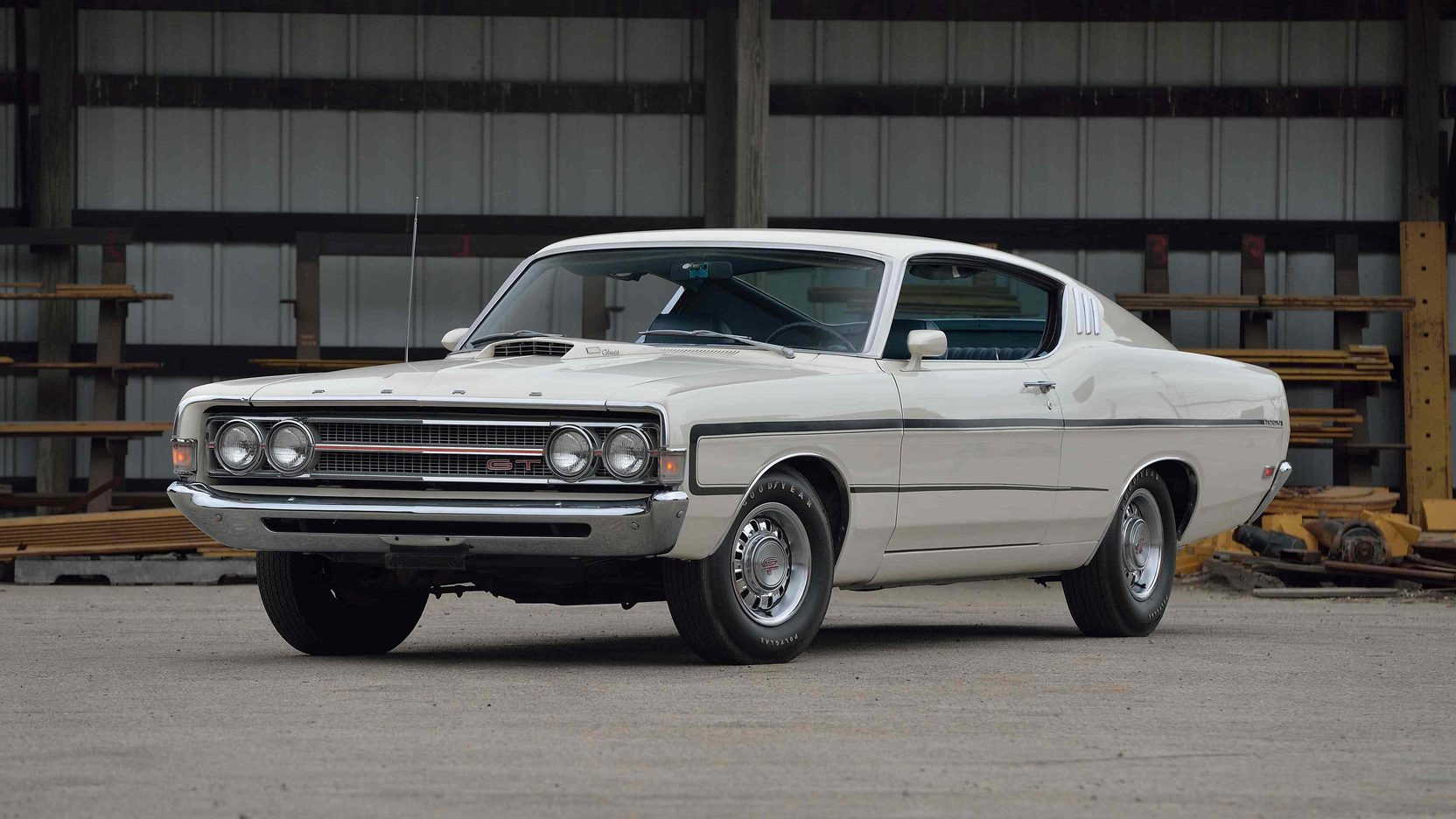 1969 Ford Torino GT front 3/4