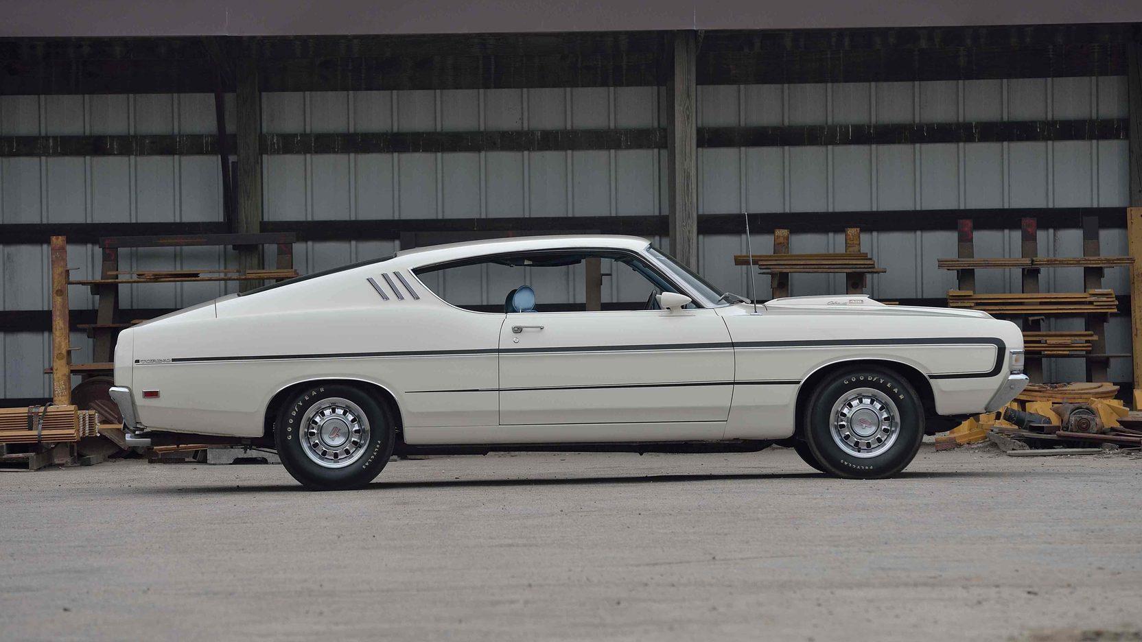 1969 Ford Torino GT profile