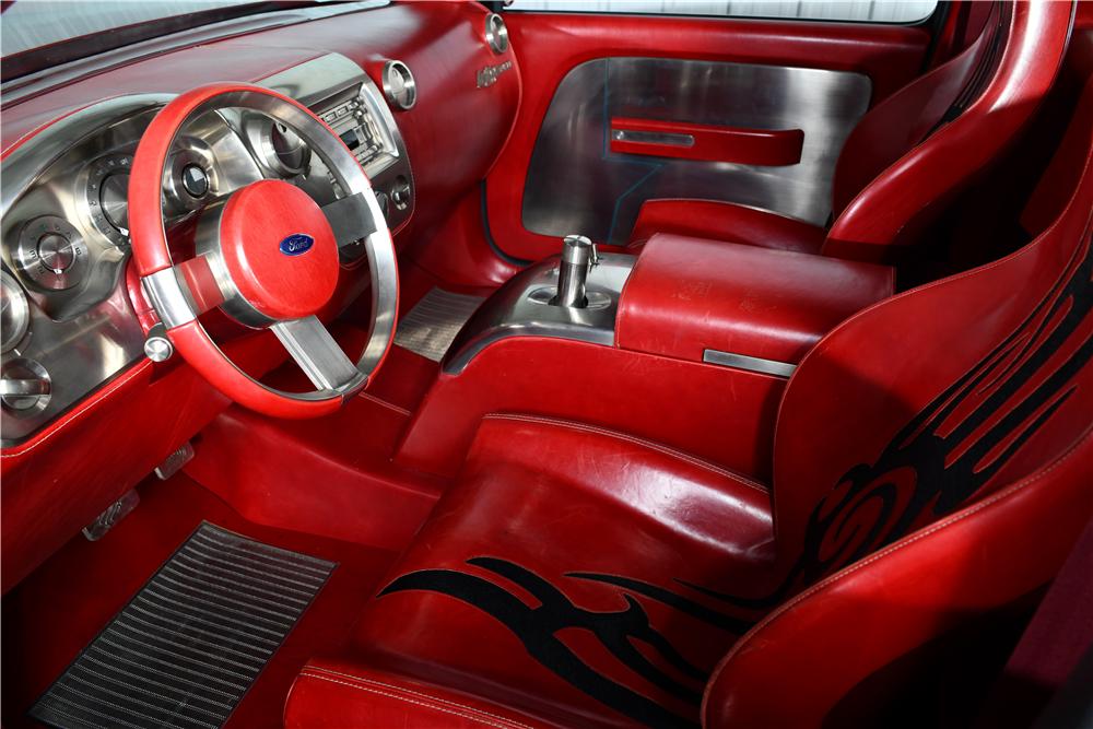2001 Ford F-150 Lightning Rod concept interior