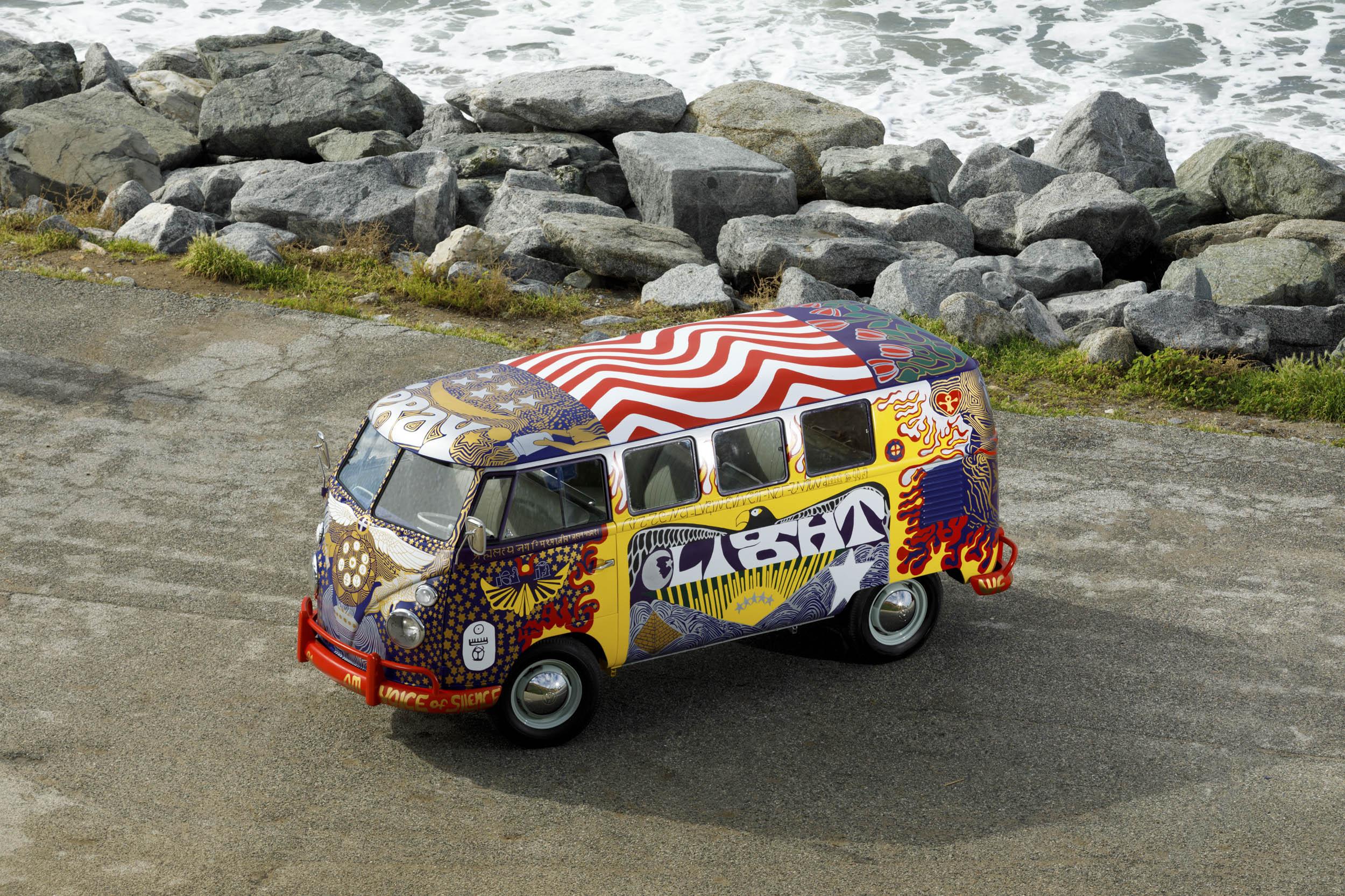 Volkswagen Type 2 'Light' bus overhead