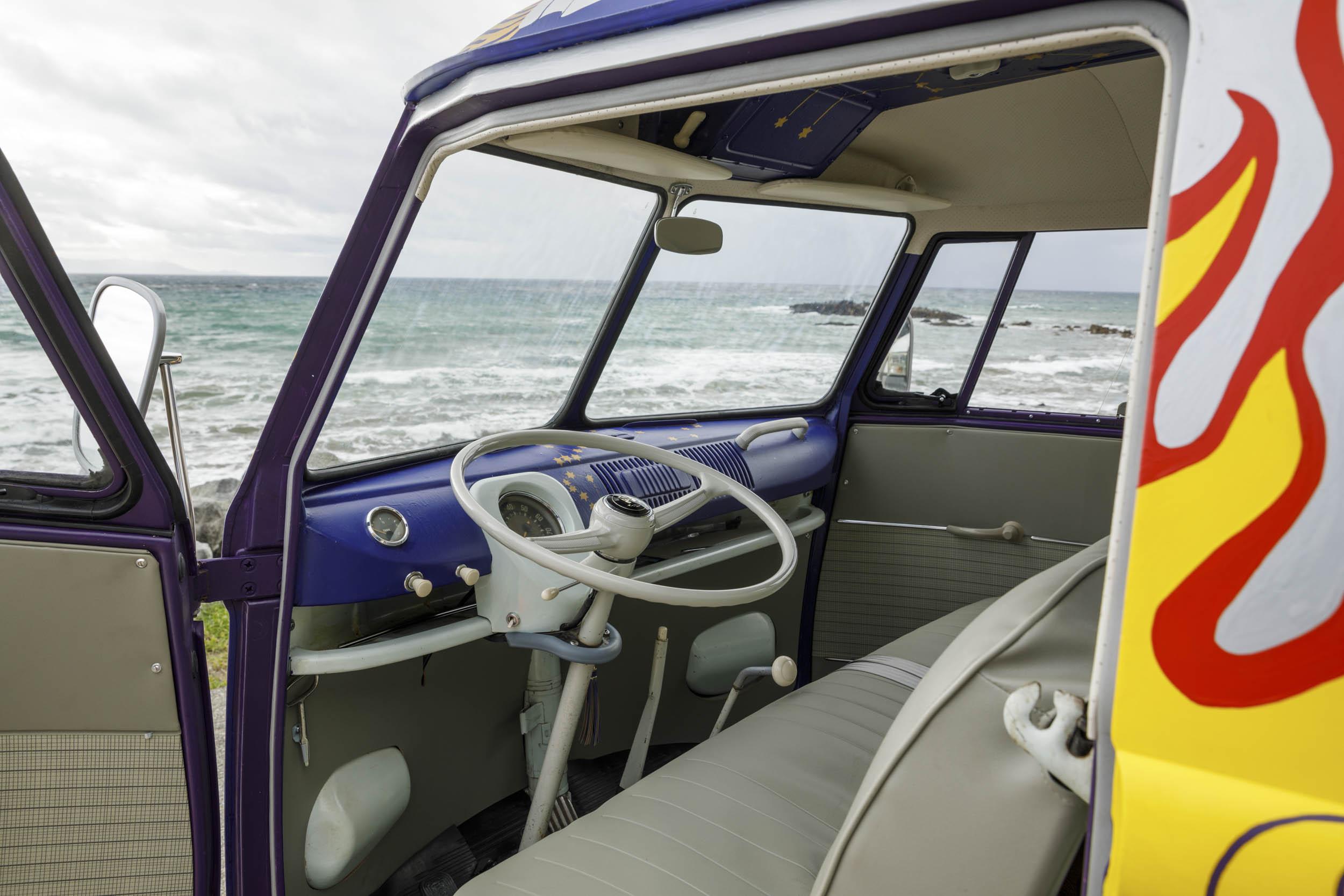 Volkswagen Type 2 'Light' bus interior