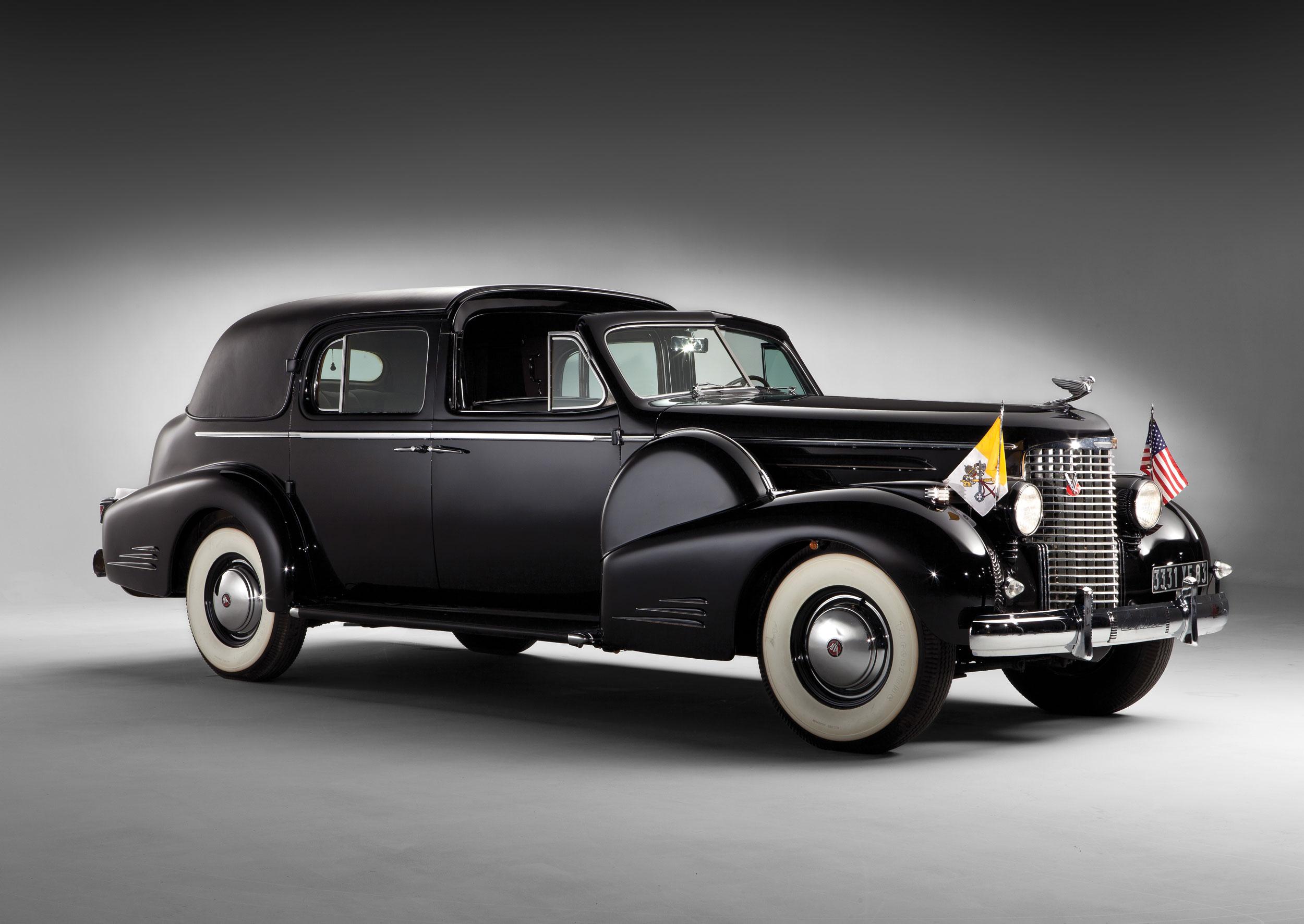 1938 Cadillac Sixteen Town Car by Fleetwood