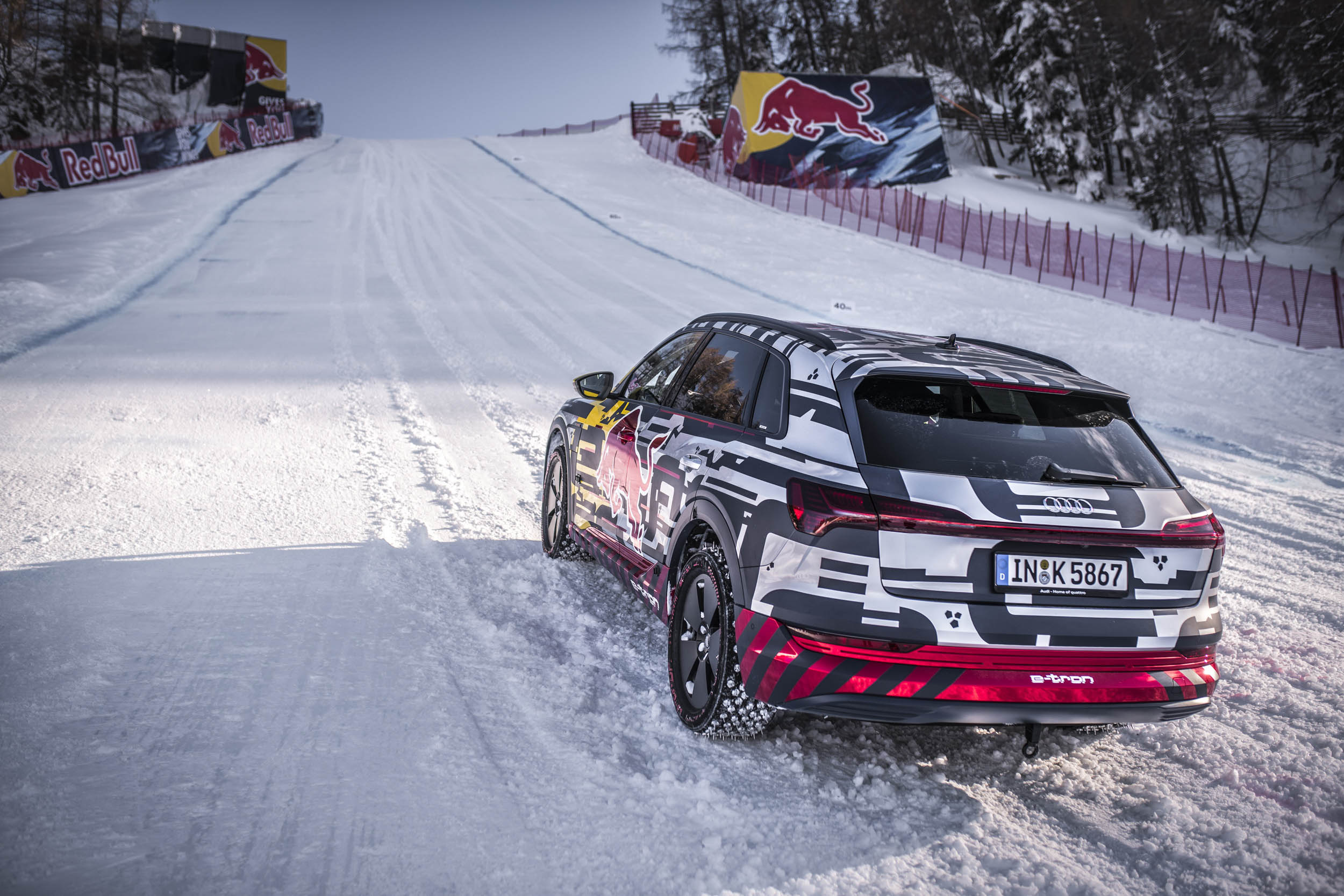 Audi e-tron extreme ready to climb the hill